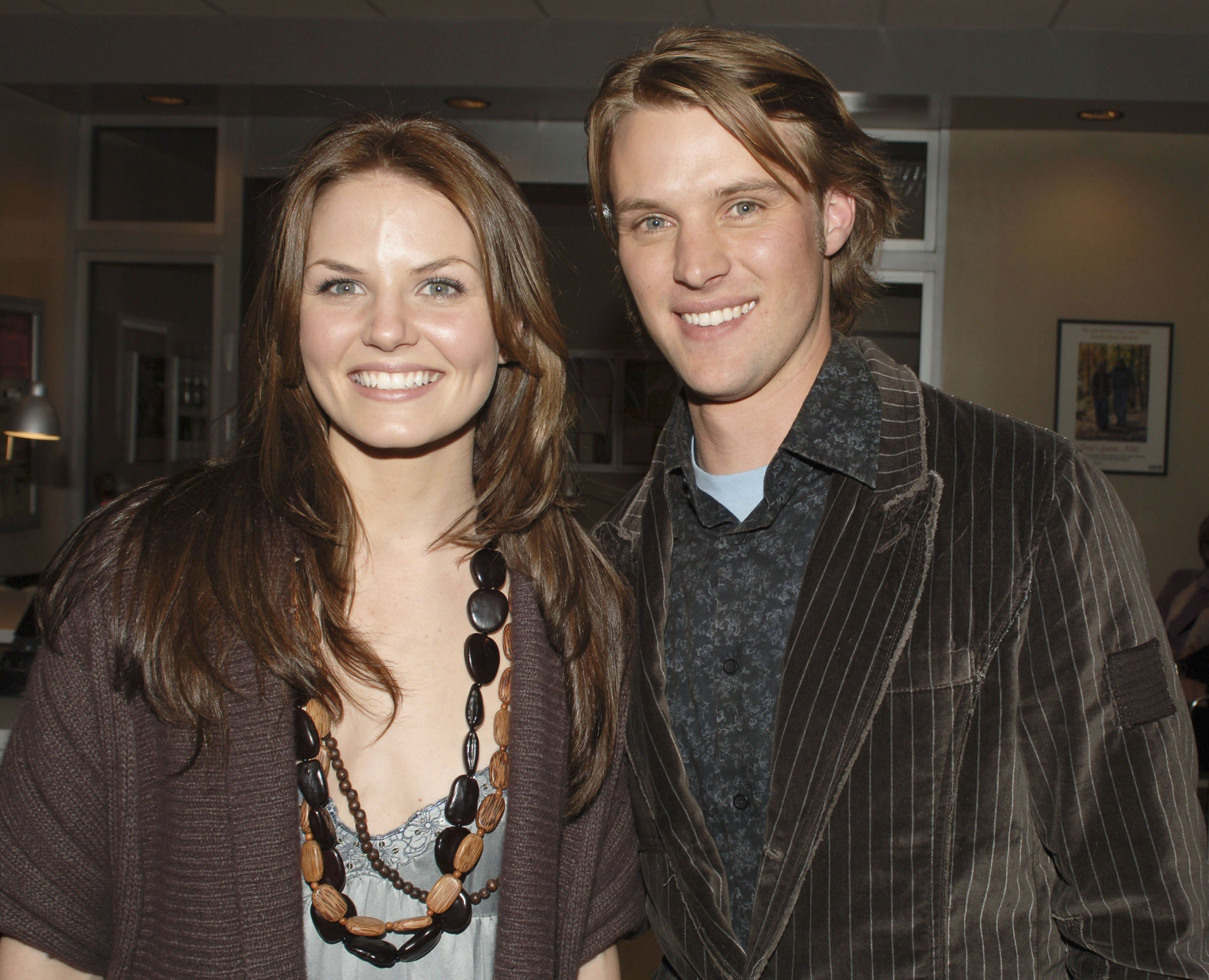 Actors Jennifer Morrison and Jesse Spencer at the FOX 2007 Programming presentation at the Wollman Rink in Central Park on May17, 2007   Photo: Getty Images