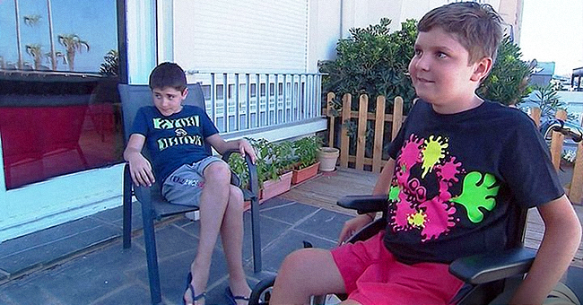 Le fauteuil roulant de Martin, un adolescent de 12 ans, a enfin été retrouvé