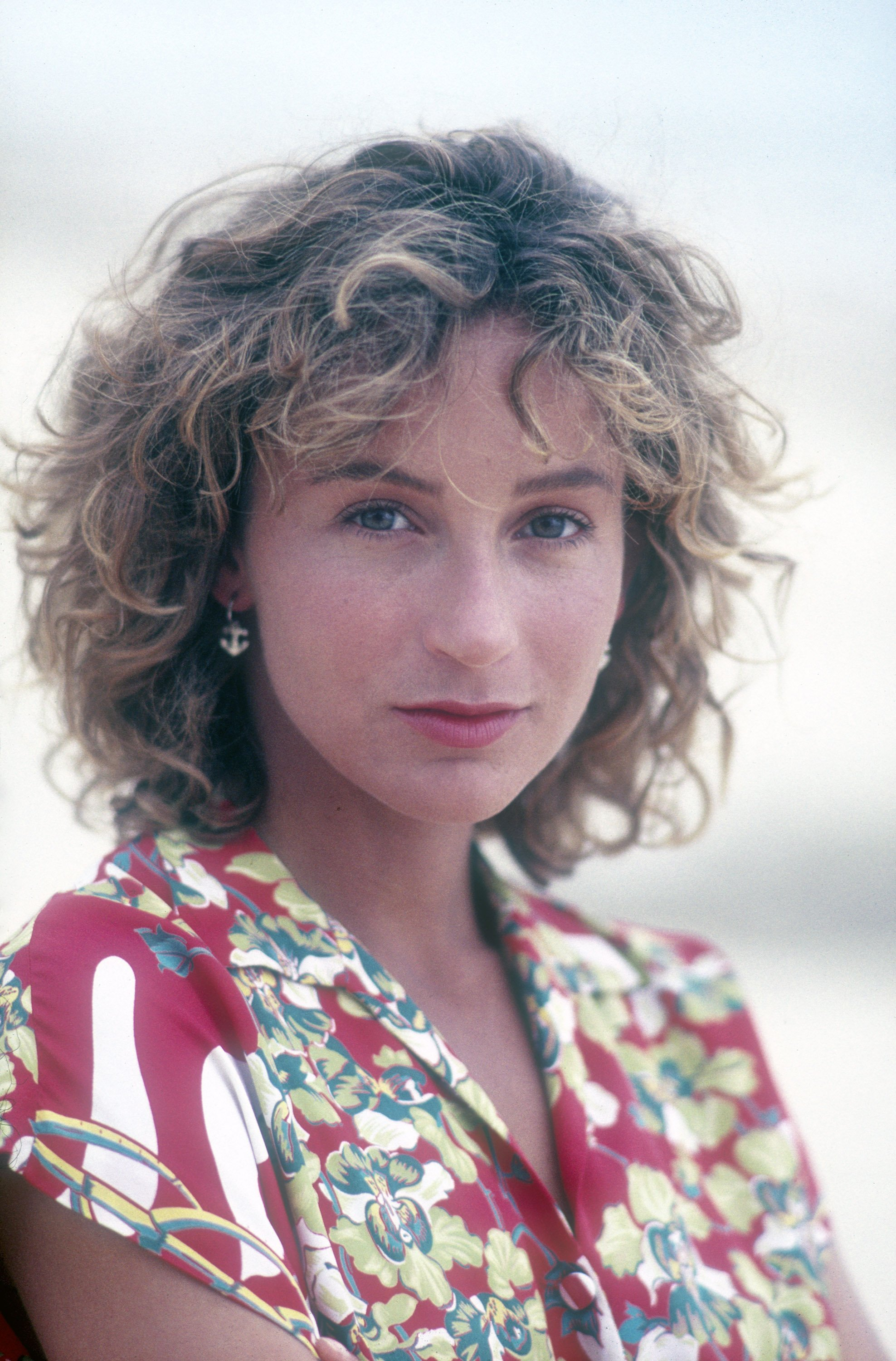 Jennifer Grey, actress, in her younger days | Photo: Getty Images