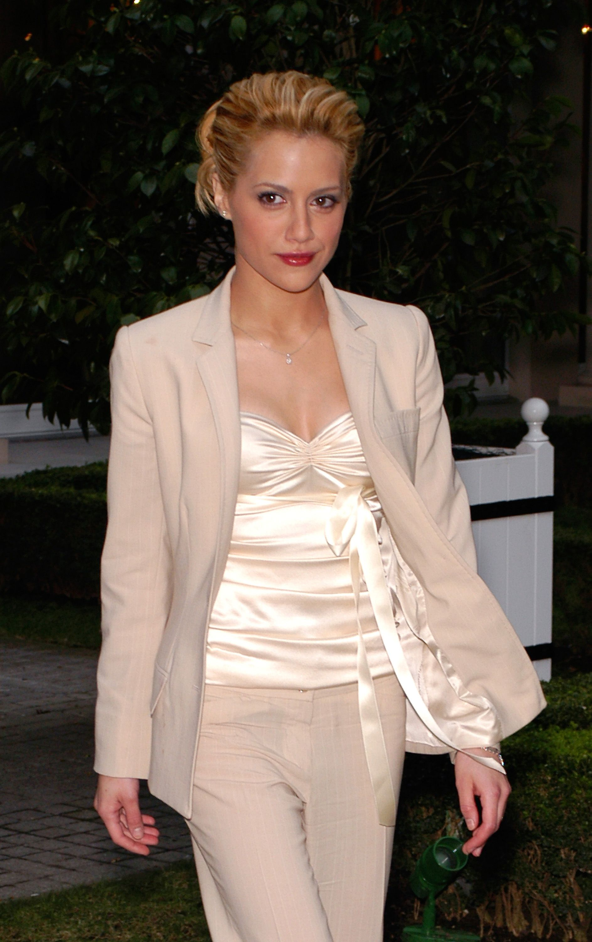 """Brittany Murphy at """" 8 Mile """" Photocall - Paris at Bristol Hotel on January 15, 2003 