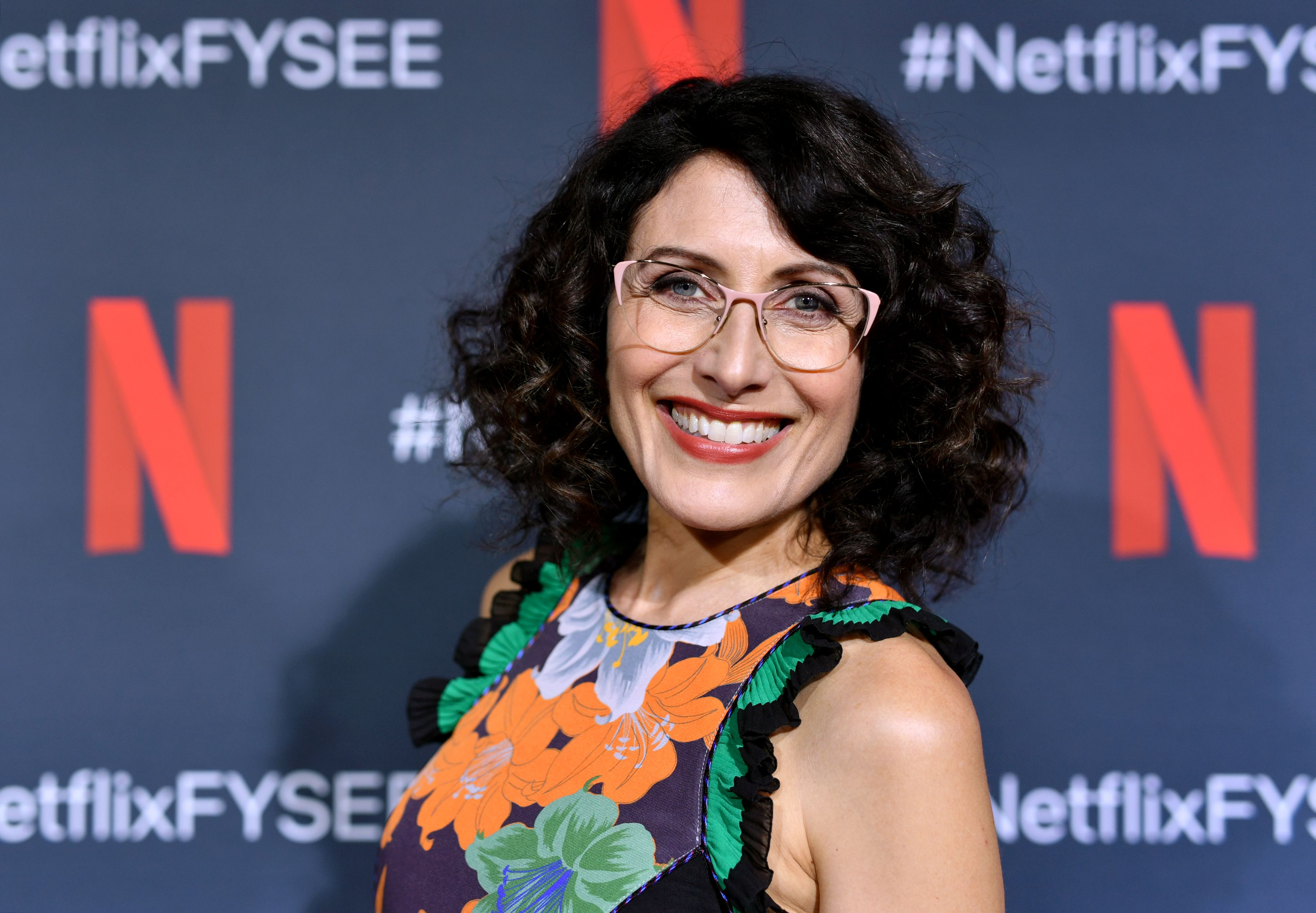 Lisa Edelstein attends the Netflix FYSEE Scene Stealer Panel at Raleigh Studios on May 30, 2019 in Los Angeles, California. | Source: Getty Images