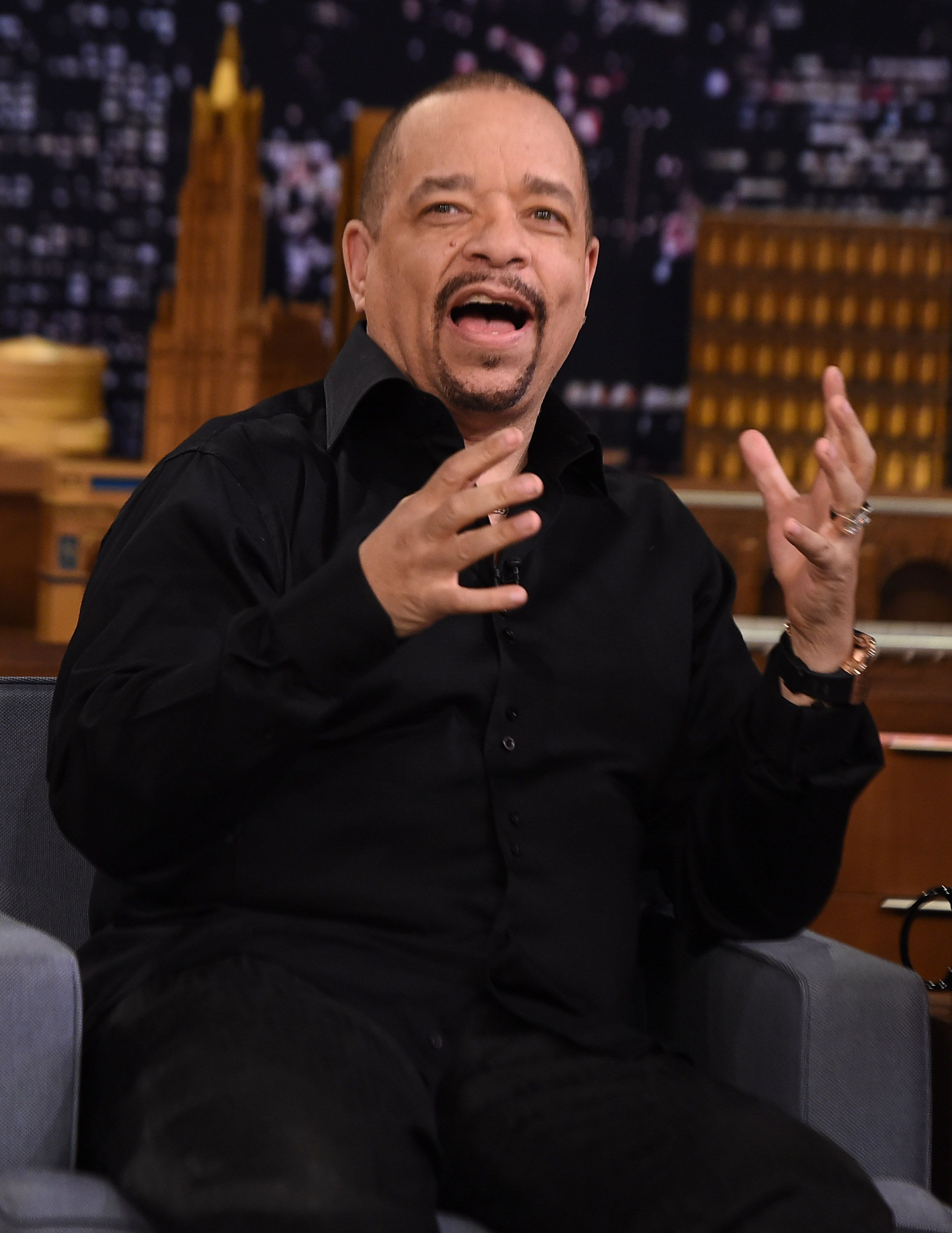 """Ice T Visits """"The Tonight Show Starring Jimmy Fallon"""" on February 25, 2015 in New York City. 