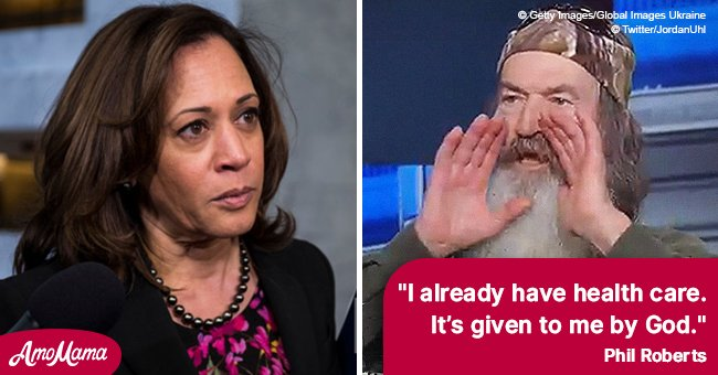 'Duck Dynasty' star Phil Roberts slams Kamala Harris over 'Medicare for all'