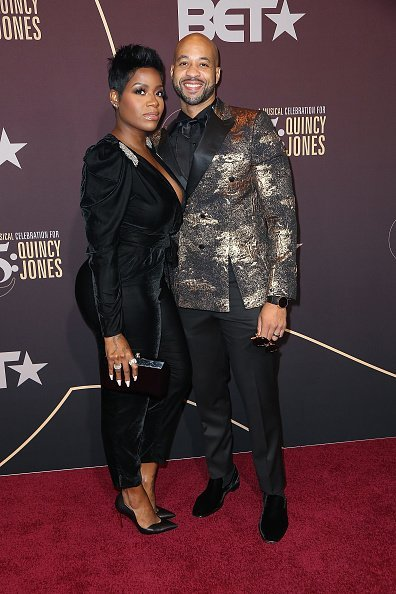 "Fantasia Barrino and her husband Kendall Taylor at the ""Q 85: A Musical Celebration for Quincy Jones"" on September 25, 2018 