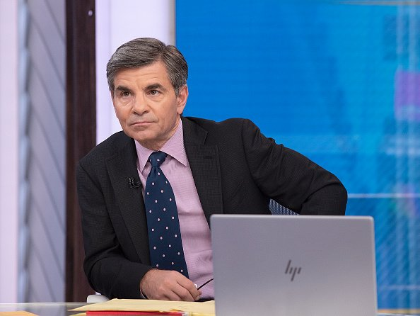 "George Stephanopolous on ""Good Morning America"" on March 3, 2020. 