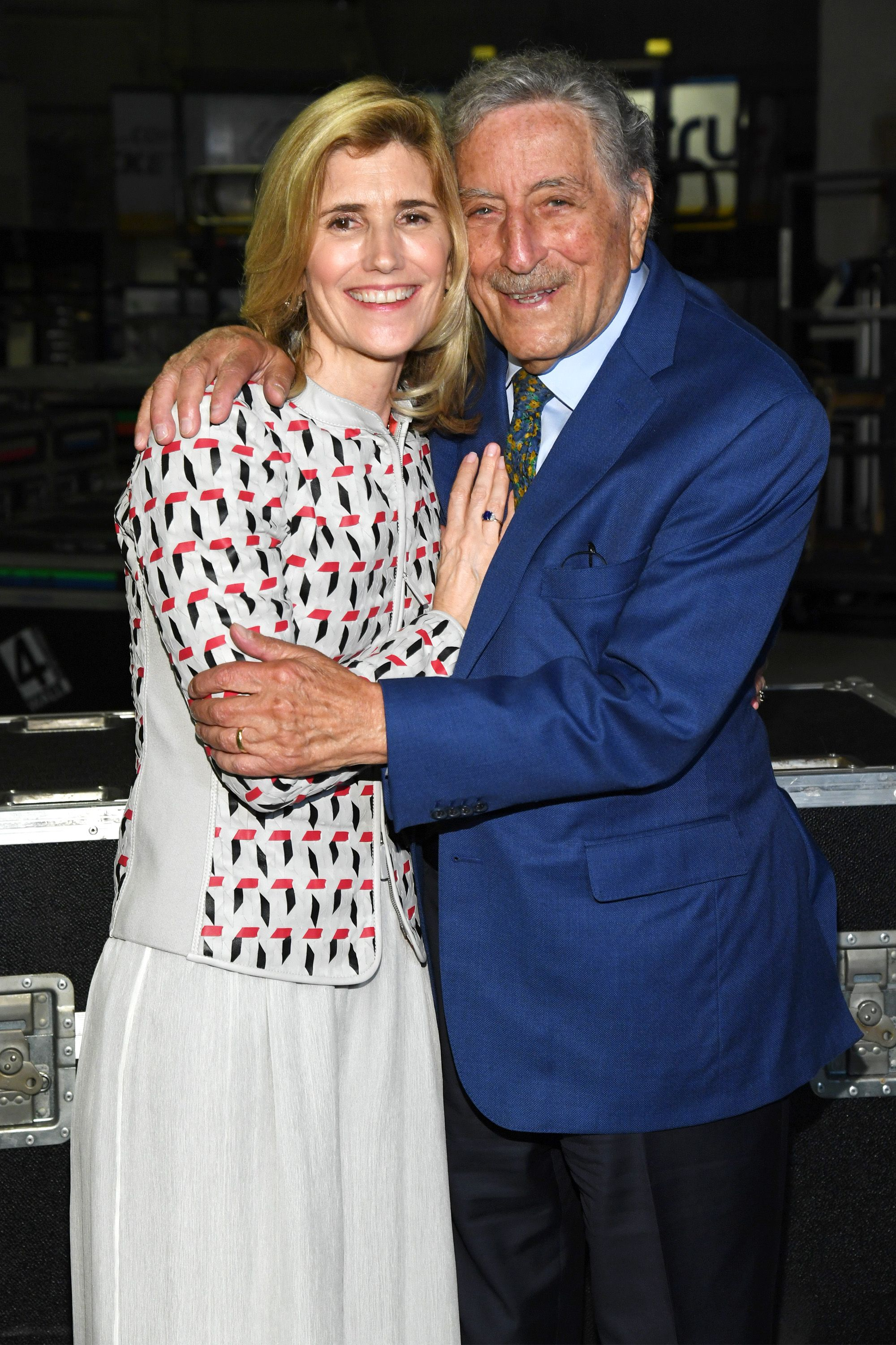 Tony Bennett and Susan Benedetto Celebrate 20th Anniversary of Exploring the Arts at Billy Joel at Madison Square Garden on April 12, 2019 in New York City. | Photo: Getty Images