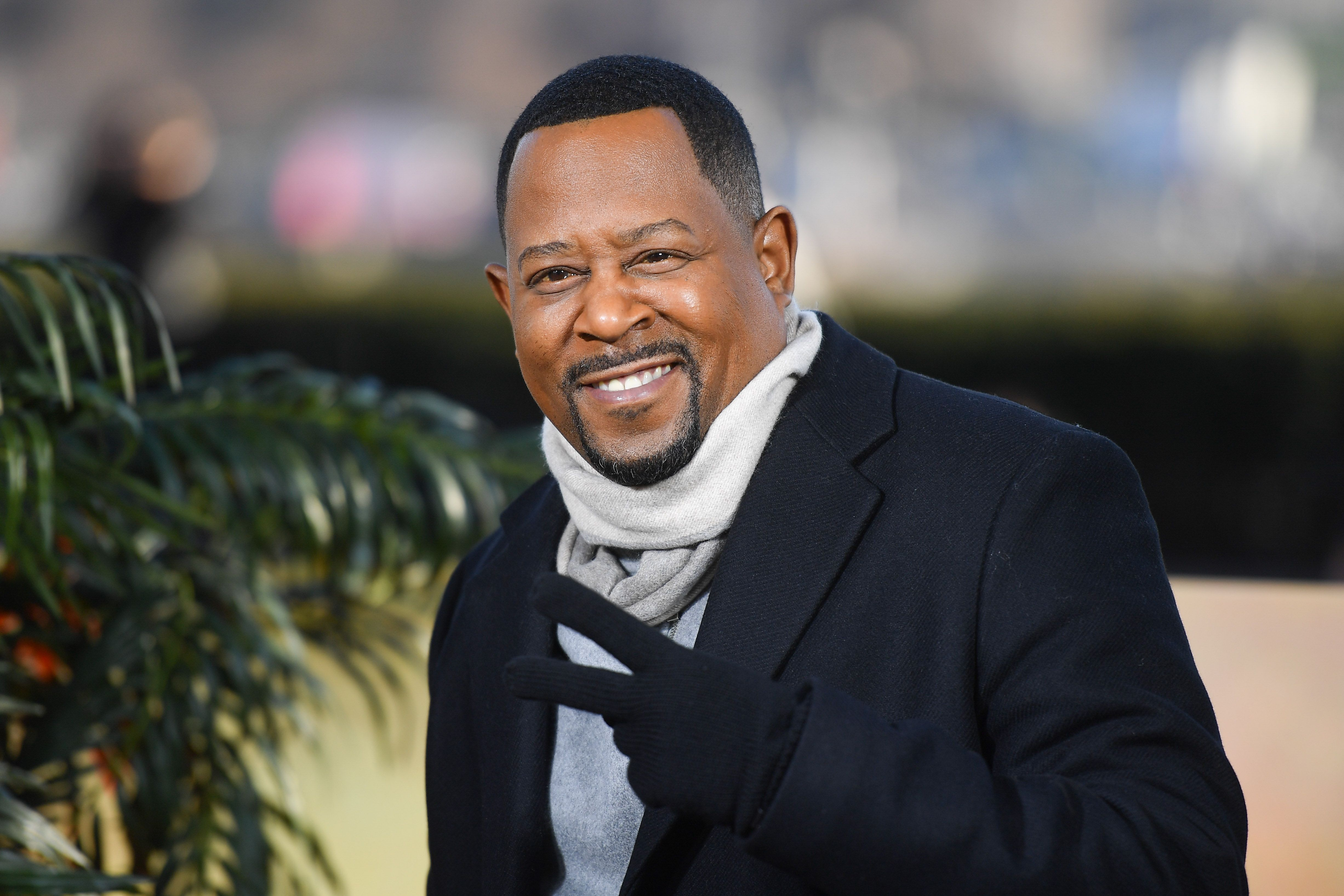 """Actor Martin Lawrence at the """"Bad Boys For Life"""" photocall on January 06, 2020 in Paris. 