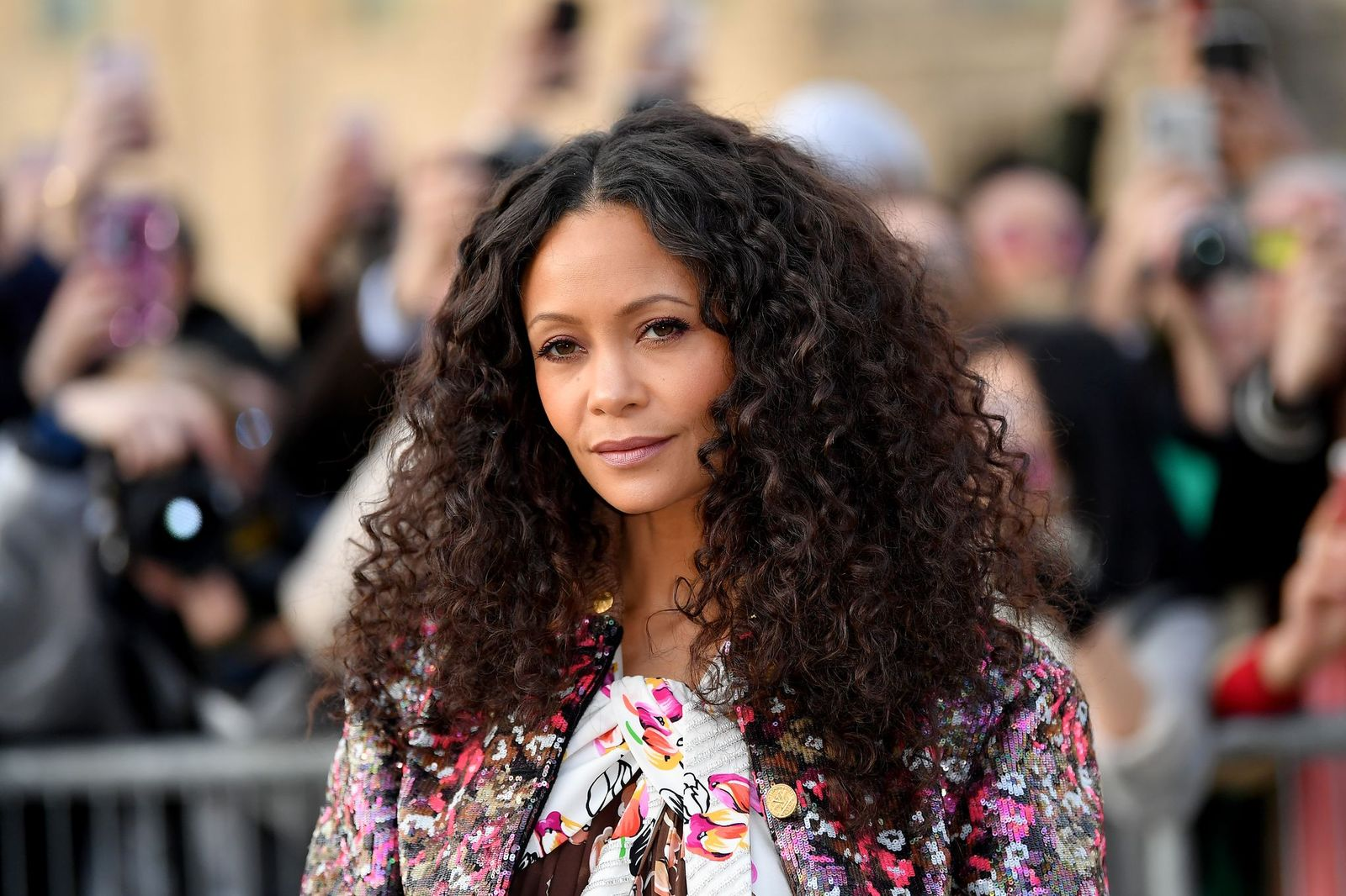 Thandie Newton at the Louis Vuitton show as part of Paris Fashion Week Womenswear Fall/Winter 2019/2020 on March 05, 2019 in Paris, France. | Photo: Getty Images