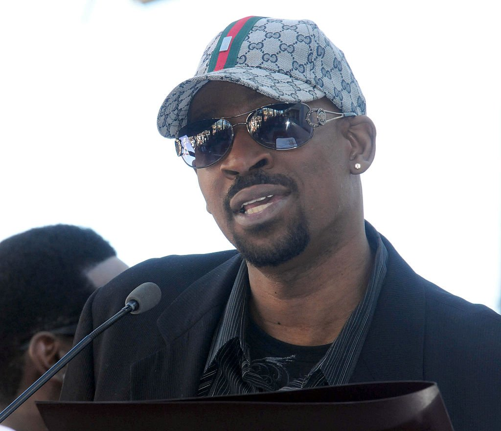 Michael McCary at the Boyz II Men Hollywood Walk Of Fame ceremony held at 7060 Hollywood Blvd. | Photo: Getty Images