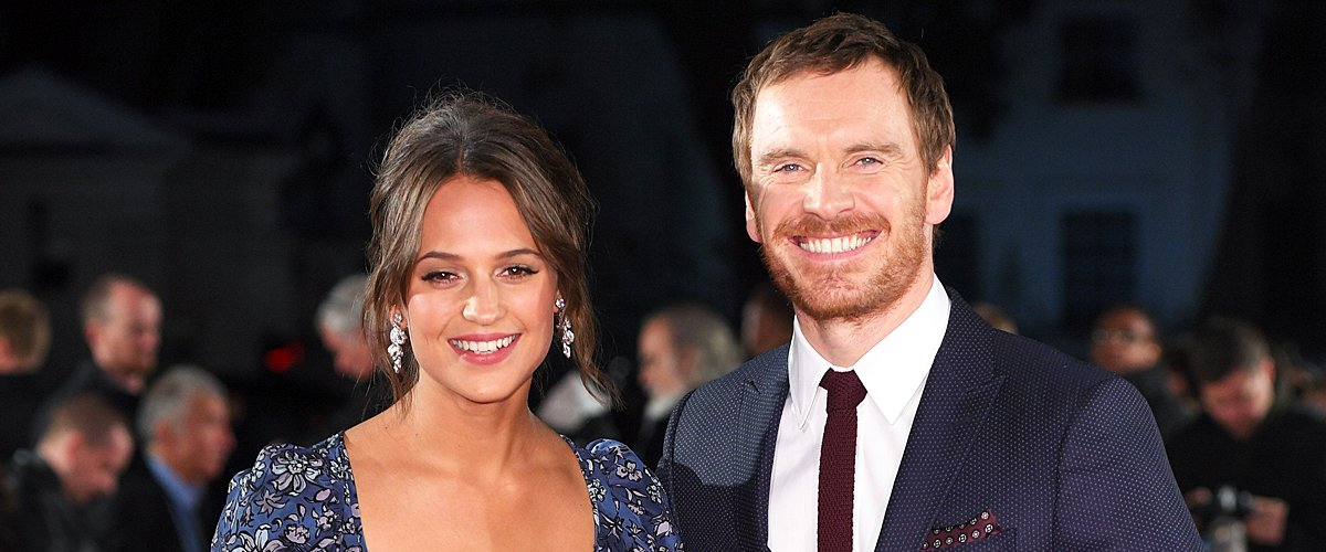 """Alicia Vikander and Michael Fassbender at the UK premiere of """"The Light Between Oceans"""" at The Curzon Mayfair on October 19, 2016   Photo: Getty Images"""