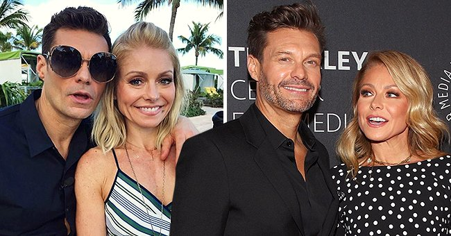 Ryan Seacrest Shares Hilarious Throwback Photo with Kelly Ripa and Fans Love It