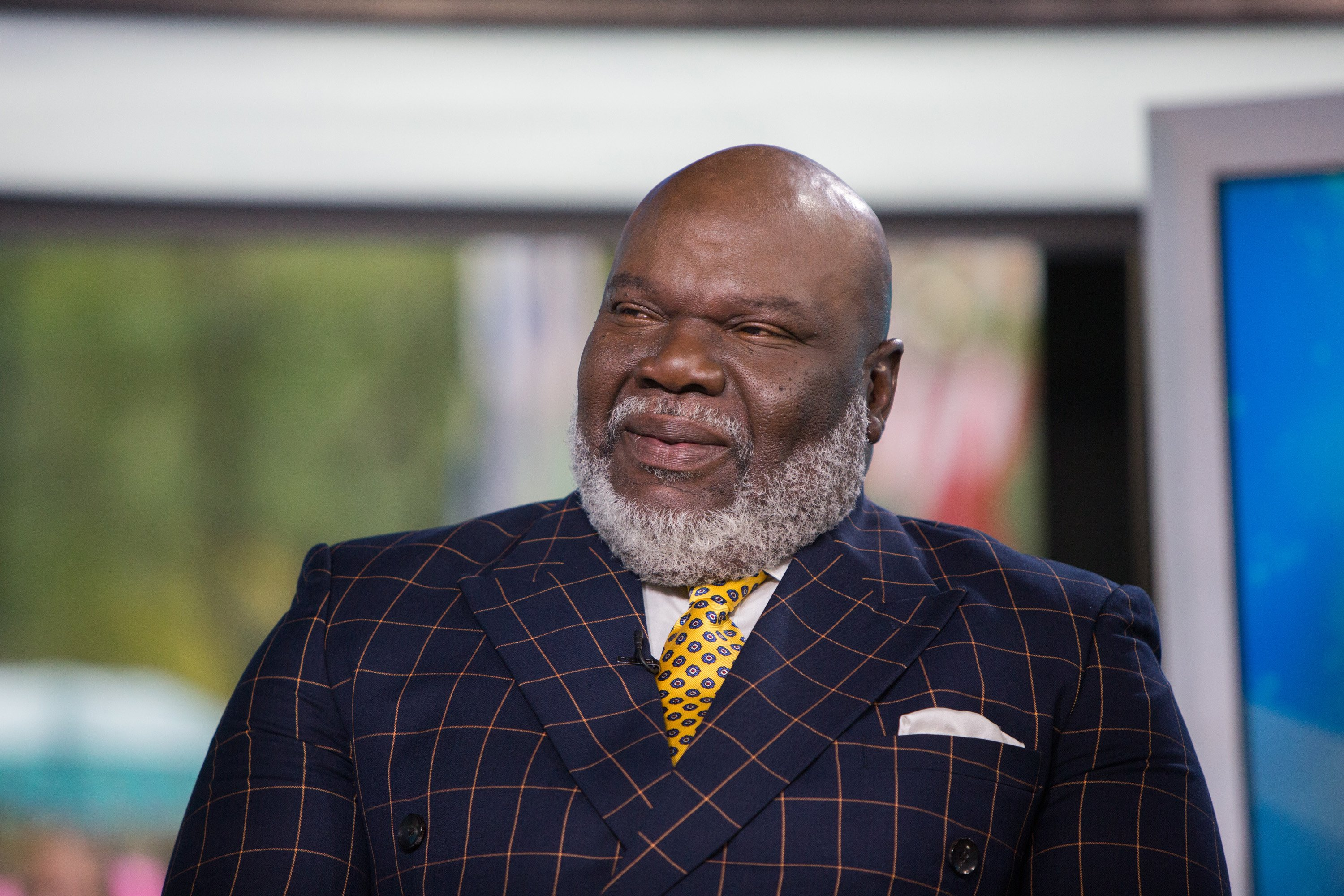 "T.D. Jakes pictured on the set of ""Today"" on Monday, October 9, 2017. 