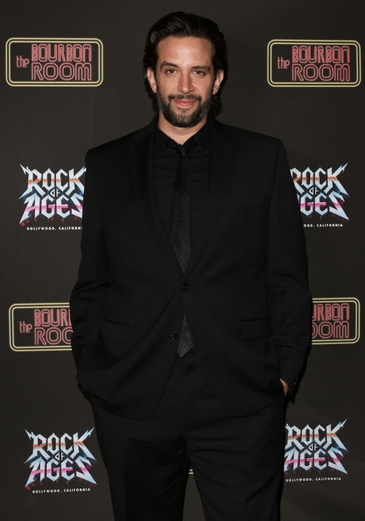 "Nick Cordero attends the opening night of ""Rock Of Ages"" at The Bourbon Room on January 15, 2020 