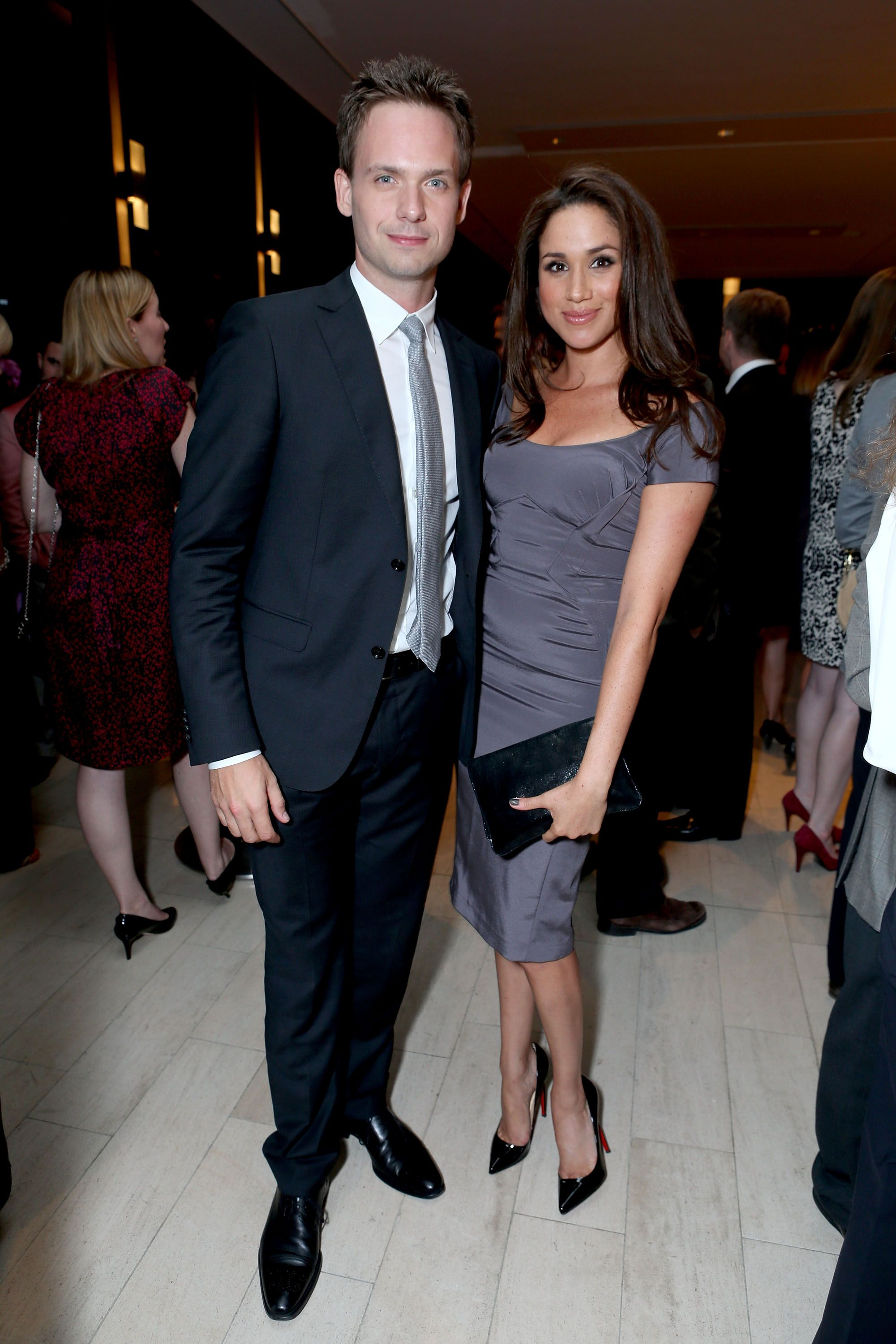 Patrick J. Adams and Meghan Markle at the FINCA Canada Fundraiser At TIFF 2012 during the Toronto International Film Festival on September 11, 2012 in Toronto, Canada | Photo: Getty Images