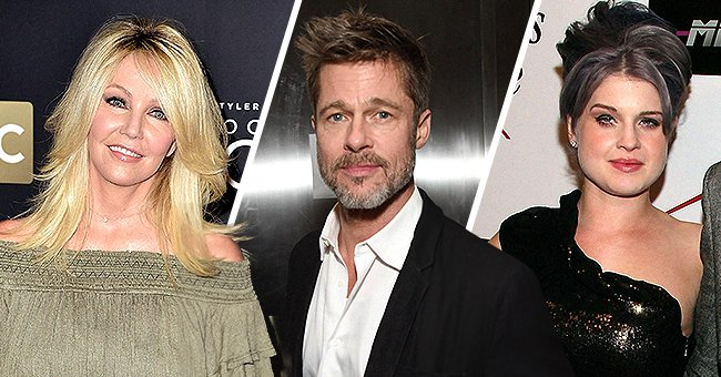 Brad Pitt, Heather Locklear and More Celebrities Who Got Sober after Suffering from Addiction