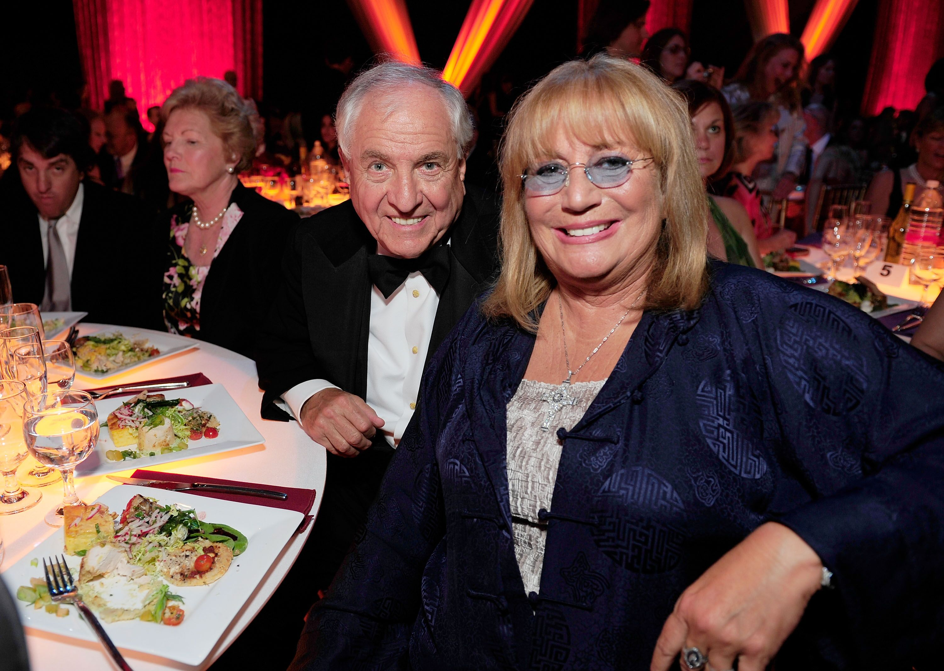 "Garry Marshall and fellow director sister Penny Marshallat the 6th annual ""TV Land Awards""in 2008 in Santa Monica, California 