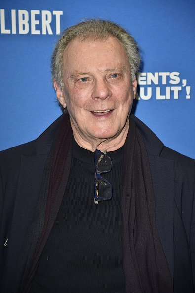 "Herbert Leonard assiste à la première de ""Les Dents, Pipi Et Au Lit"" Paris à UGC Cine Cite des Halles le 27 mars 2018 à Paris, France. 
