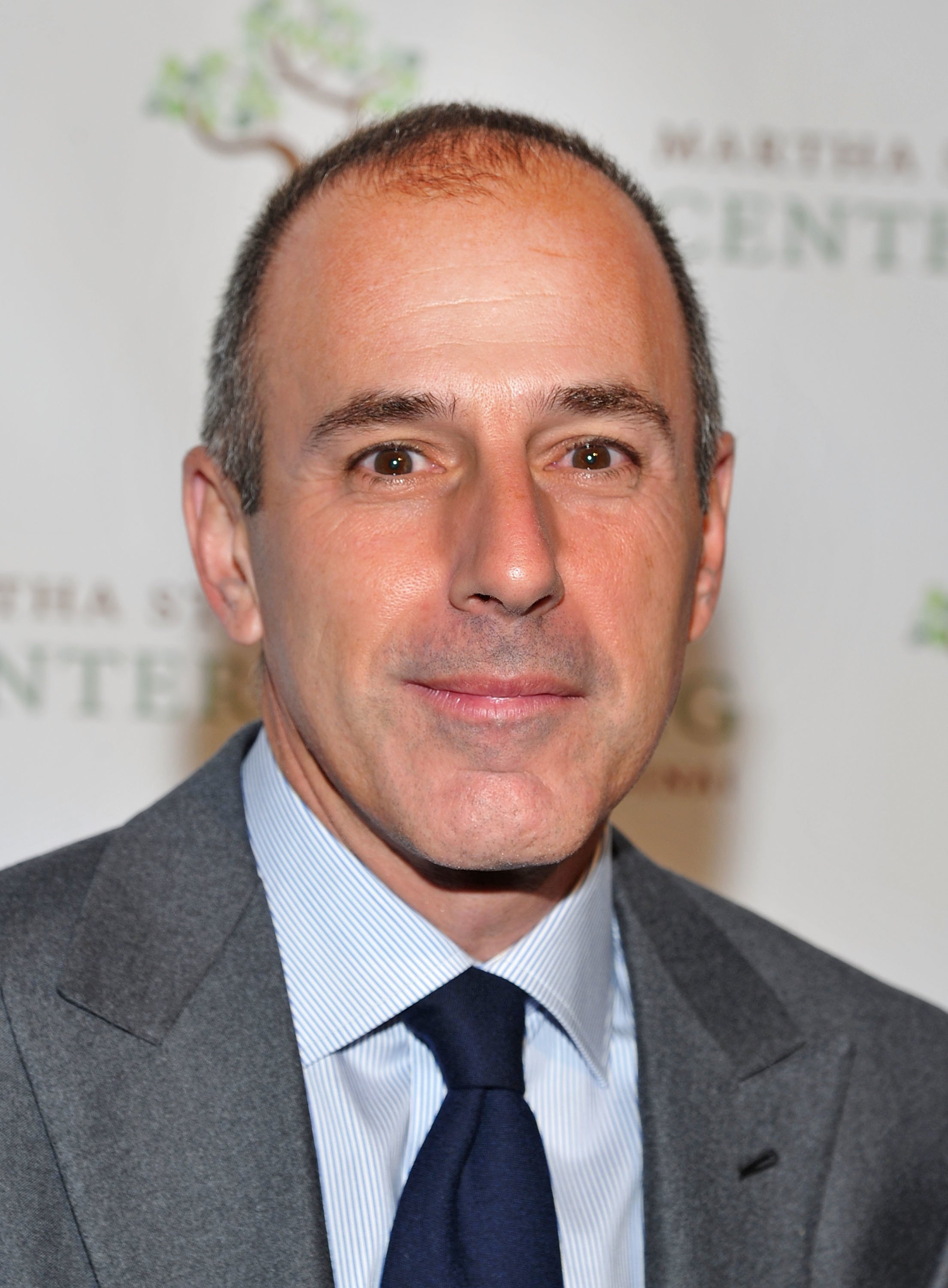 Matt Lauer attends the Fourth annual Martha Stewart Center for Living.   Source: Getty Images