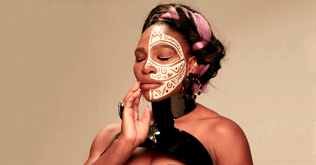 Serena Williams Looks Fierce with Face Paint on Essence Global Fashion Issue Cover