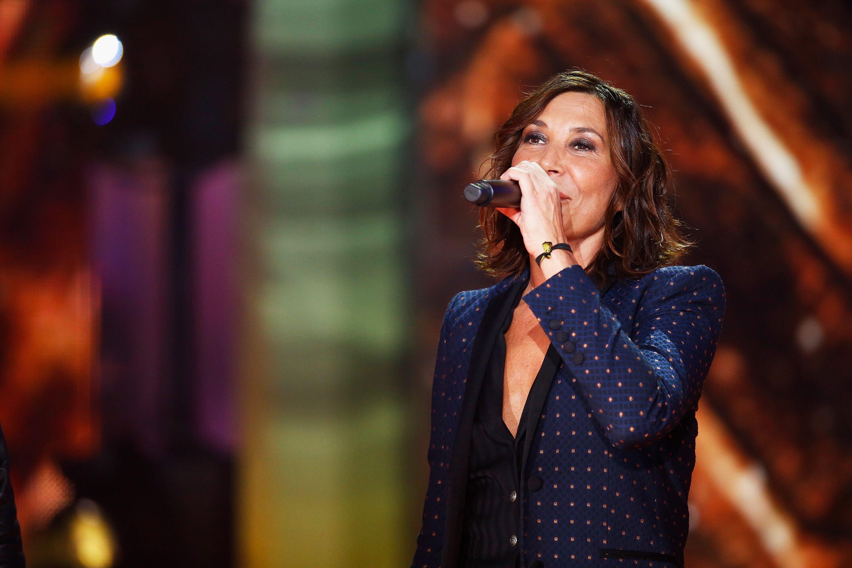 La chanteuse Zazie sur scène. l Source : Getty Images