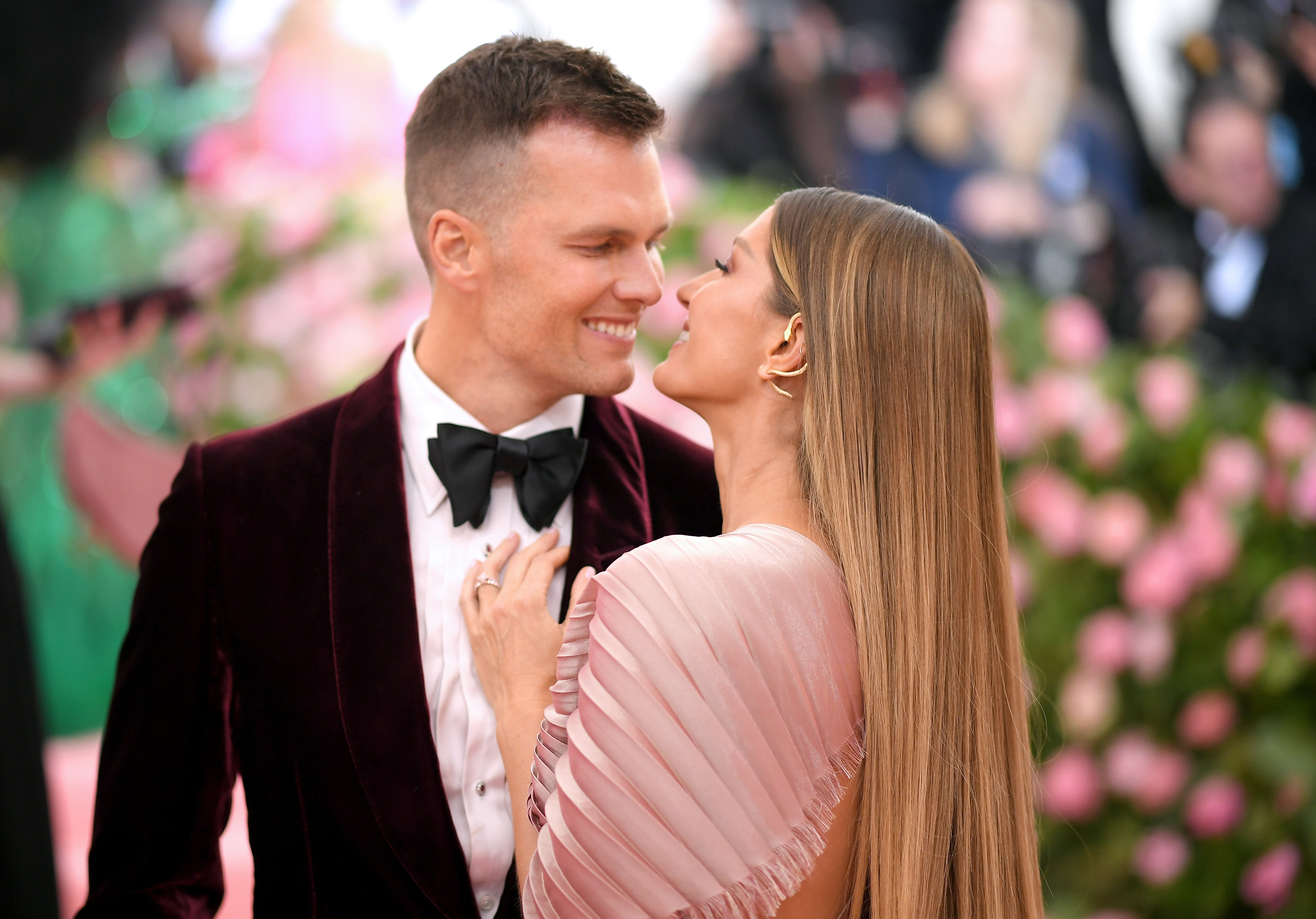 Tom Brady and his wife Gisele Bundchen attend the 2019 Met Gala | Photo: Getty Images