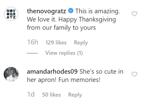 Fan comments on Joanna's post | Instagram: @joannagaines