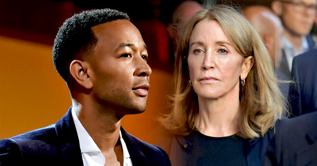 Singer John Legend Speaks out about Felicity Huffman's 14-Day Sentence in College Bribery Case