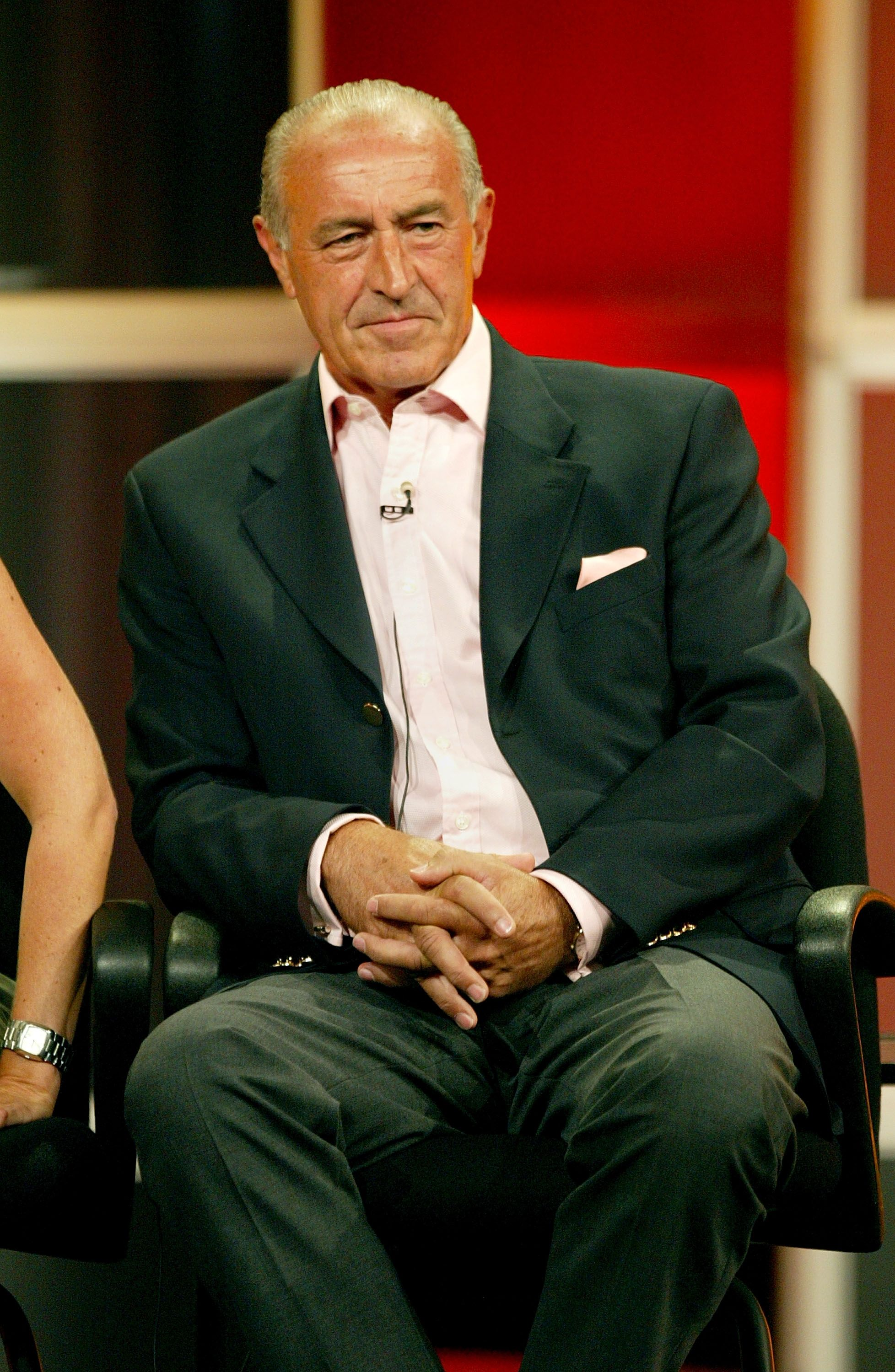 "Len Goodman at the panel discussion for ""Dancing with the Stars"" during the ABC 2005 Television Critics Association Summer Press Tour at the Beverly Hilton Hotel on July 26, 2005 in Beverly Hills, California 
