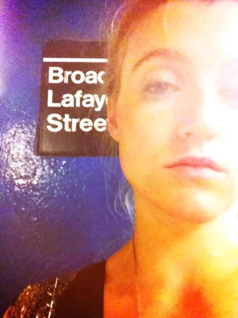A throwback selfie of AnnaRose King captured during her last month as a NYU student, May, 2014. | Photo: Facebook/AnnaRose King.