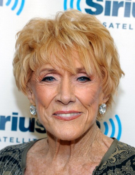 Jeanne Cooper at SiriusXM Studio on July 31, 2012 in New York City | Photo: Getty Images