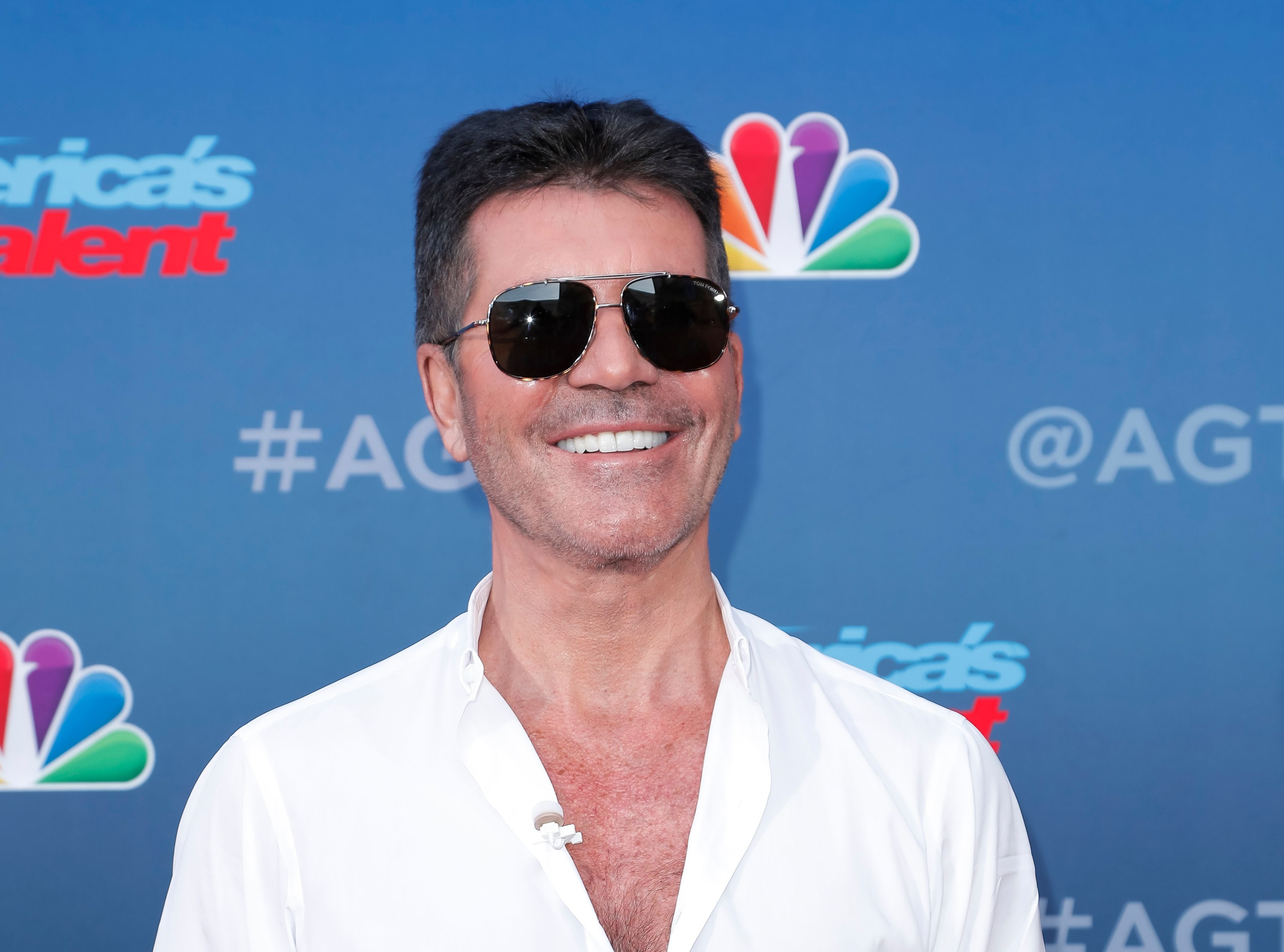 "Simon Cowell at the ""America's Got Talent"" Season 15 Kickoff at Pasadena Civic Auditorium on March 04, 2020 