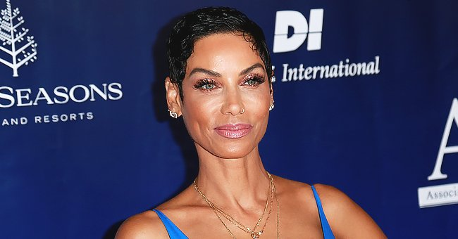 Nicole Murphy Looks Enchanting as She Poses in a TikTok Video in Chic Tight Fitting Outfits