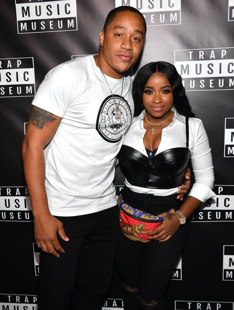 "Robert ""Red"" Rushing and Toya Wright attend Trap Music Museum VIP Preview at Trap Music Museum 