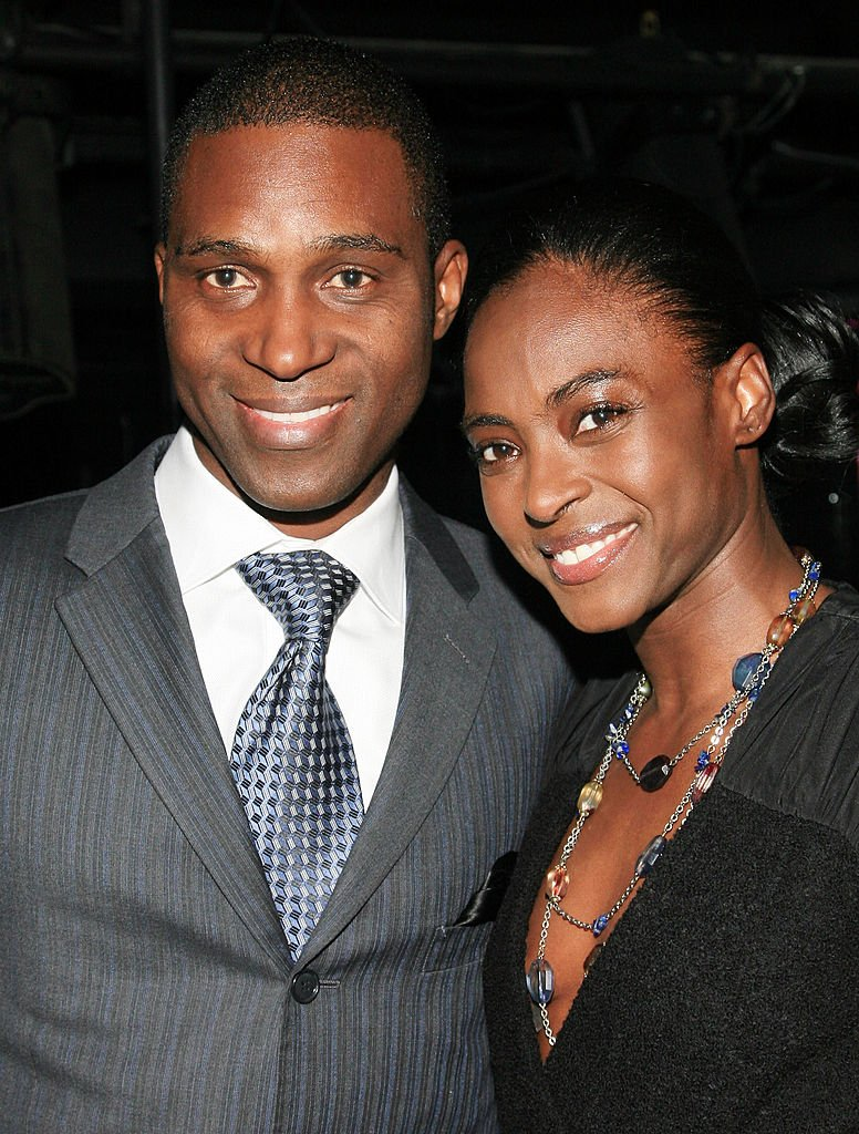 """Prince Kunle and Princess Keisha Omilana attend the """"Haiti Cherie"""" Benefit in February 2011 at District 36 in New York City. 