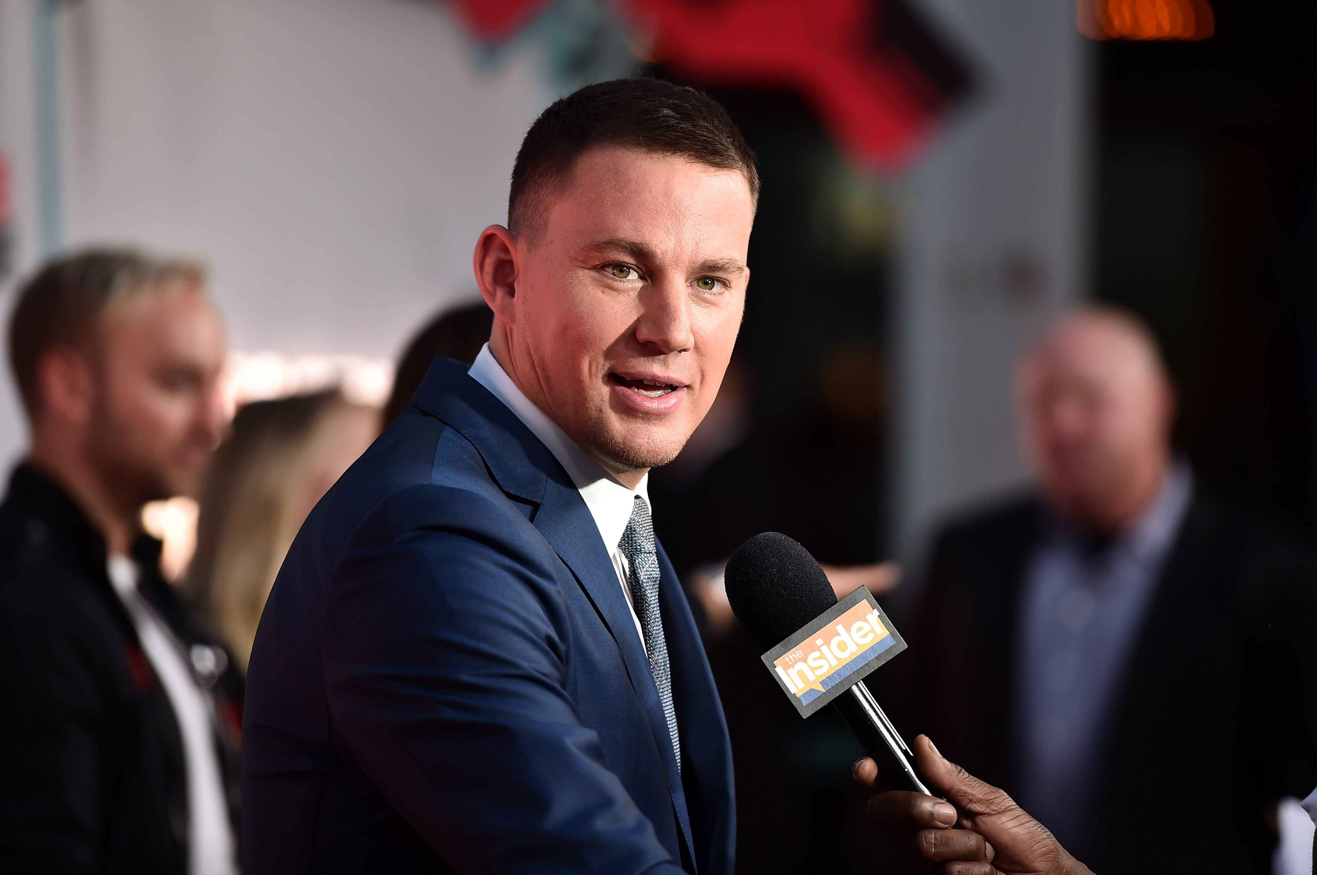"Channing Tatum attends the premiere of Amazon's ""Comrade Detective"" at ArcLight Hollywood in Hollywood, California 