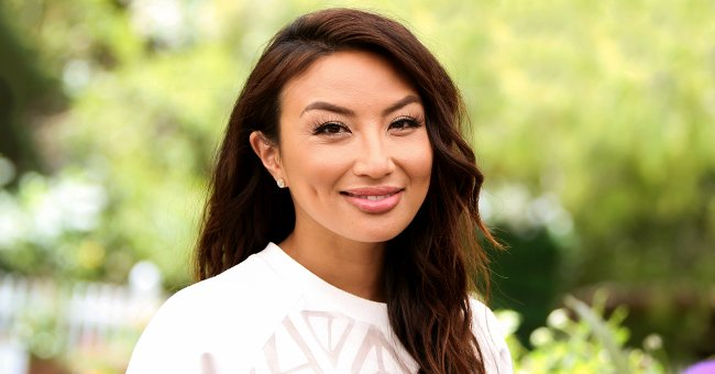 Fans React to Jeannie Mai's New Photo Chilling in a Blue Tracksuit
