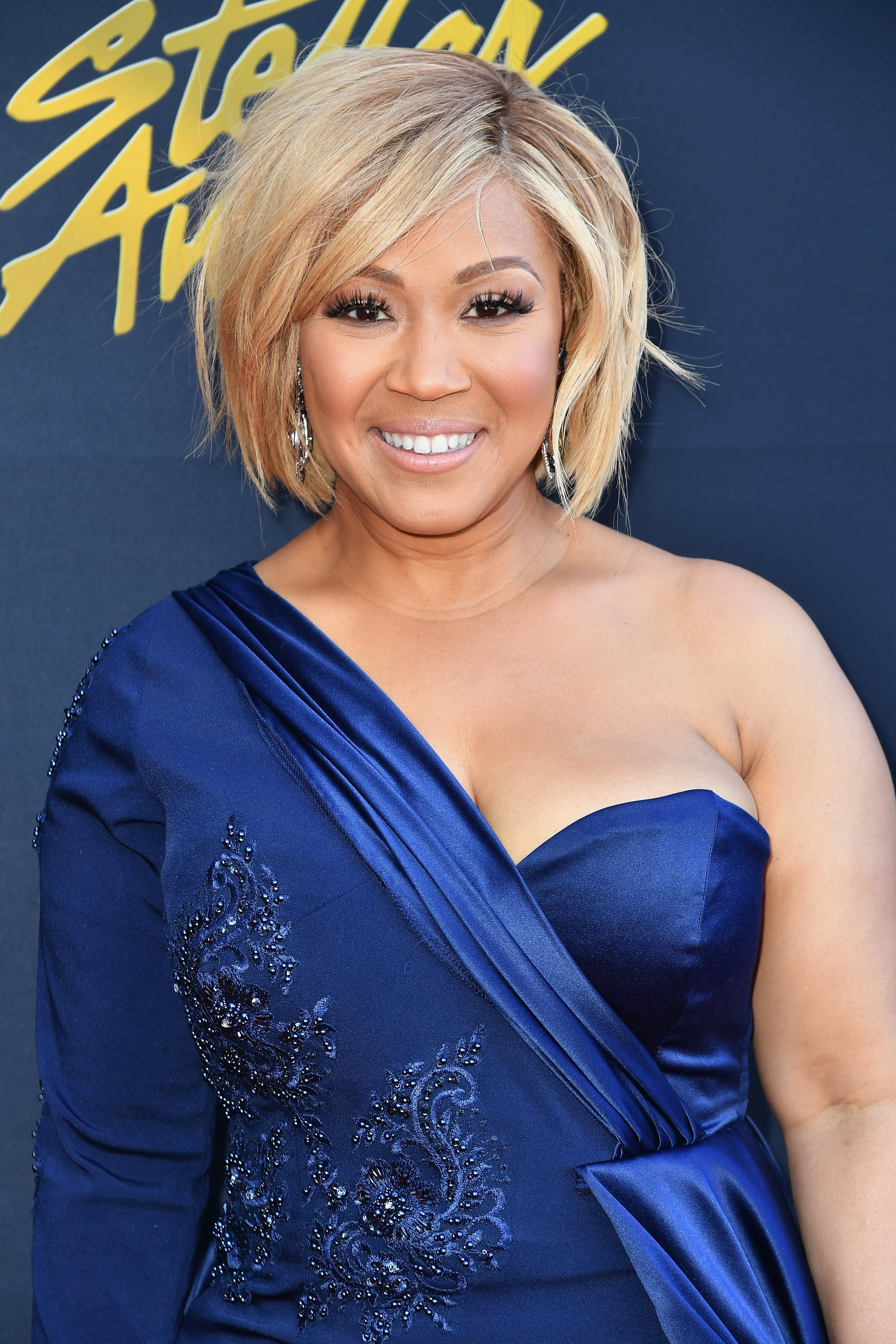 Erica Campbell at the Stellar Gospel Music Awards at the Orleans Arena on March 24, 2018 in Las Vegas, Nevada |Source: Getty Images
