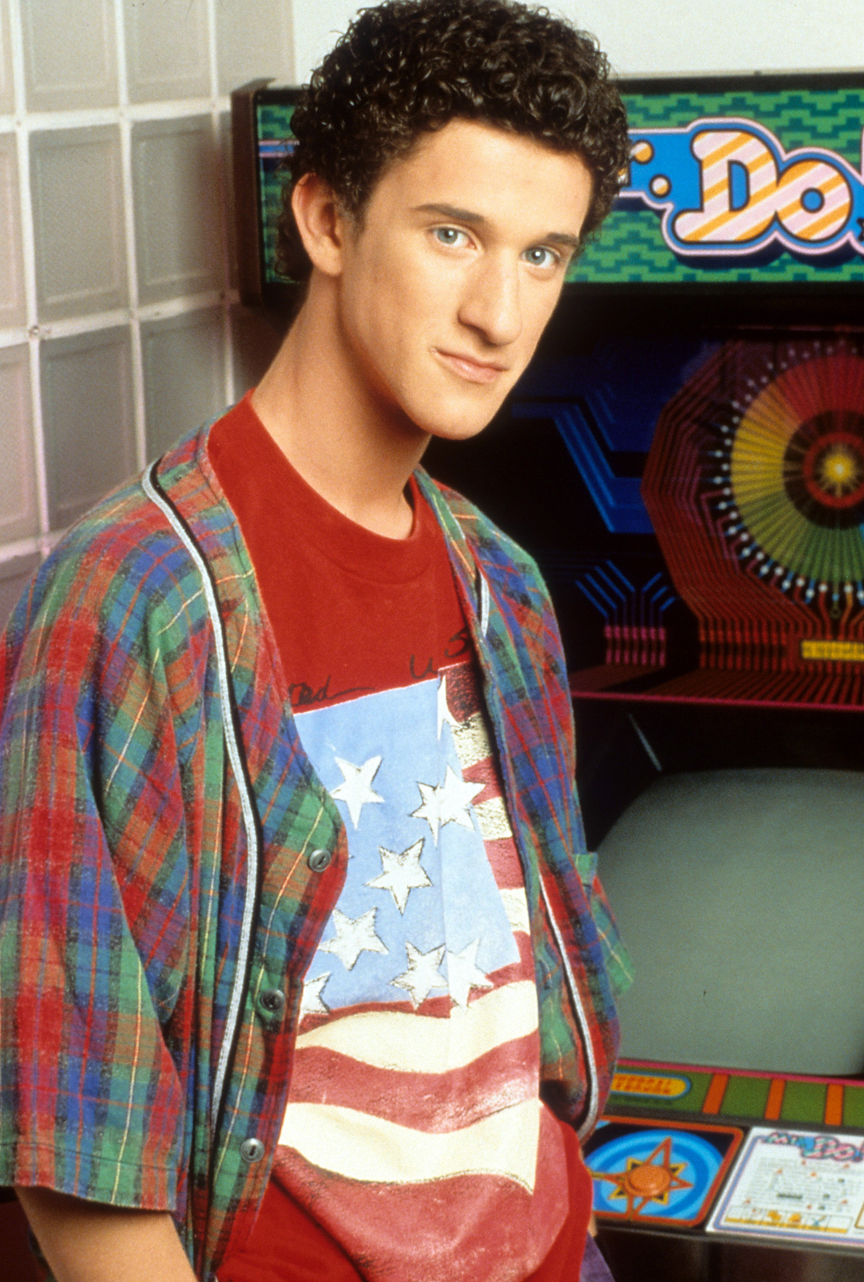 Dustin Diamond in publicity portrait for the television series 'Saved By The Bell', Circa 1991.   Source: Getty Images