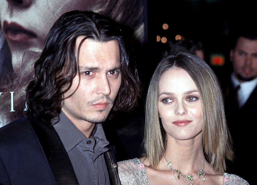 Johnny Depp et Vanessa Paradis en 1999. Photo : Getty Images