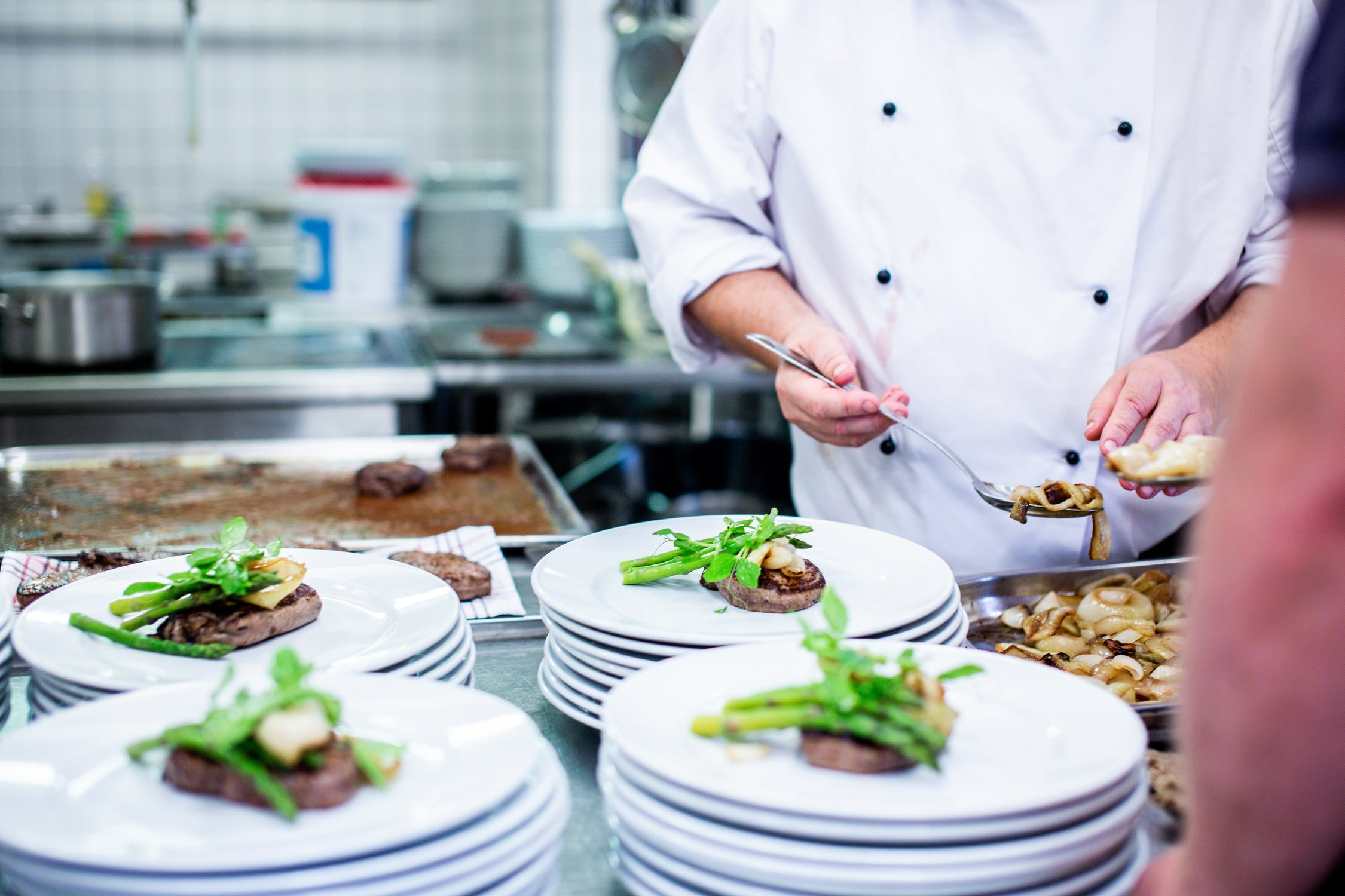 The chef and his assistants made the best gourmet food | Source: Unsplash