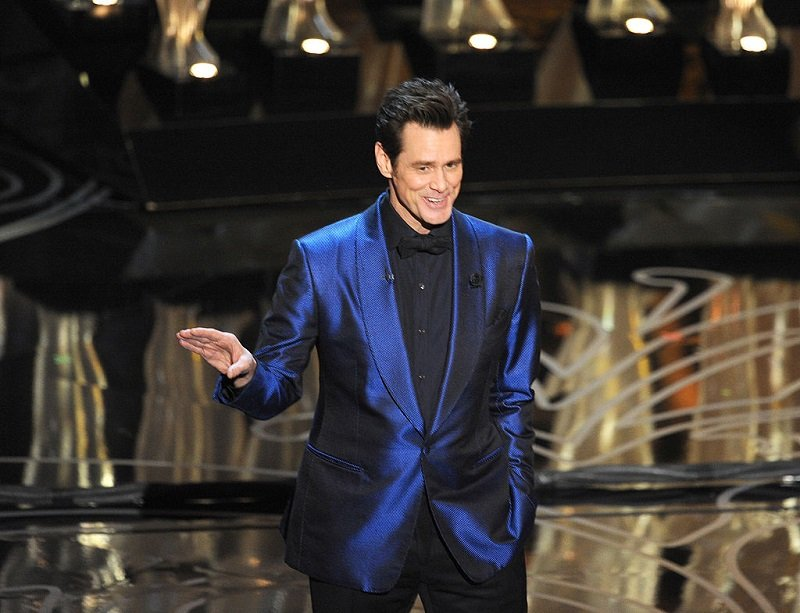 Jim Carrey on March 2, 2014 in Hollywood, California   Photo: Getty Images