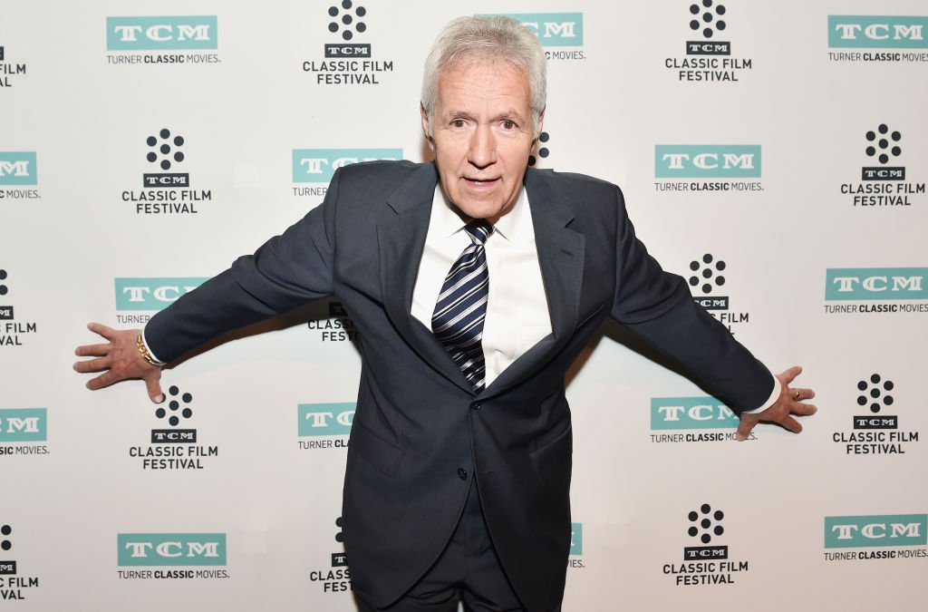 TV personality Alex Trebek attends the screening of 'The Bridge on The River Kwai' during the 2017 TCM Classic Film Festival | Photo: Getty Images