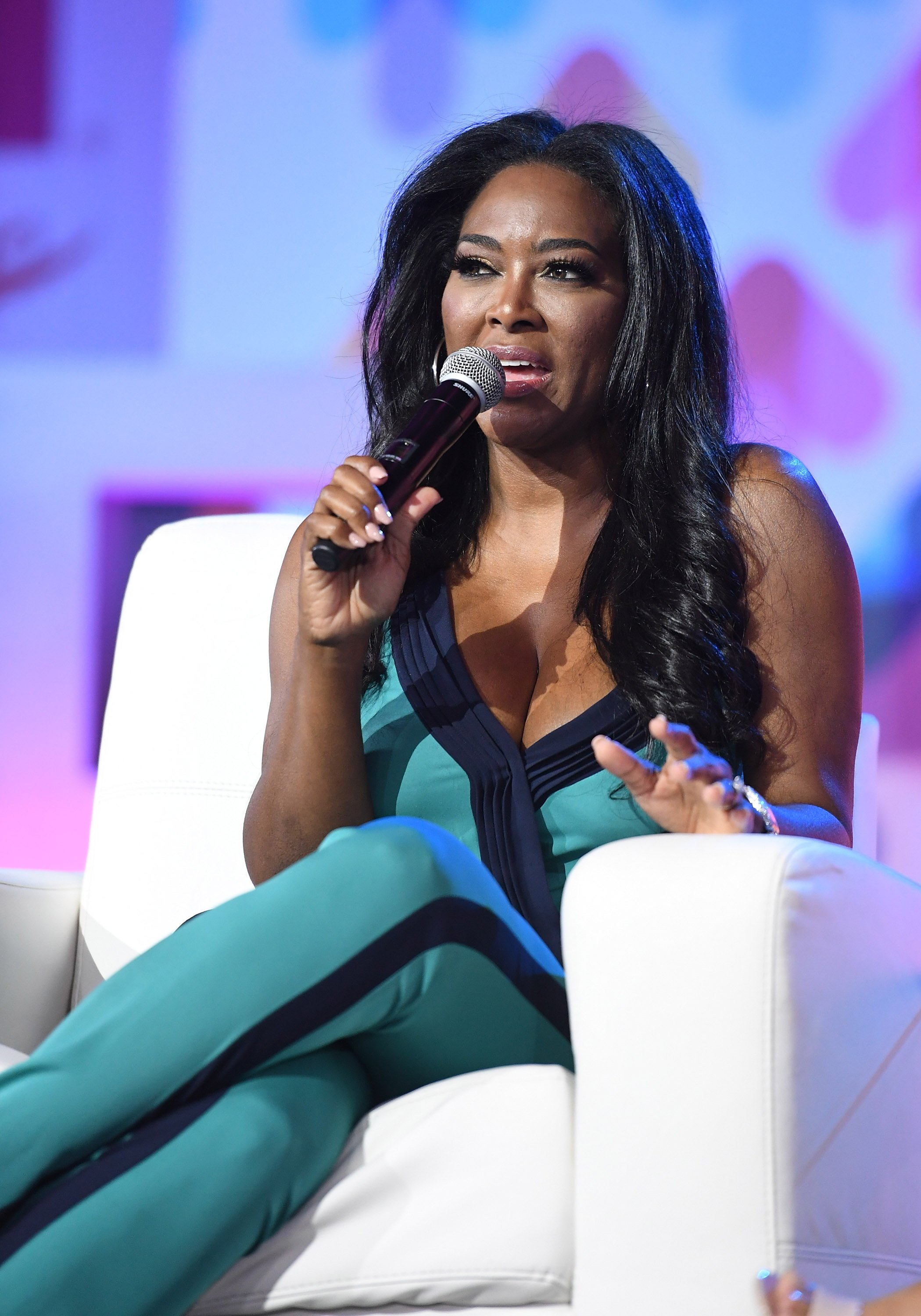 Kenya Moore at the ESSENCE Festival on June 30, 2017 in Louisiana | Photo: Getty Images