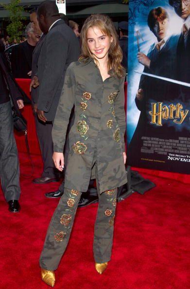 L'incontournable Emma Watson dans sa jeunesse. l Source : Getty Images