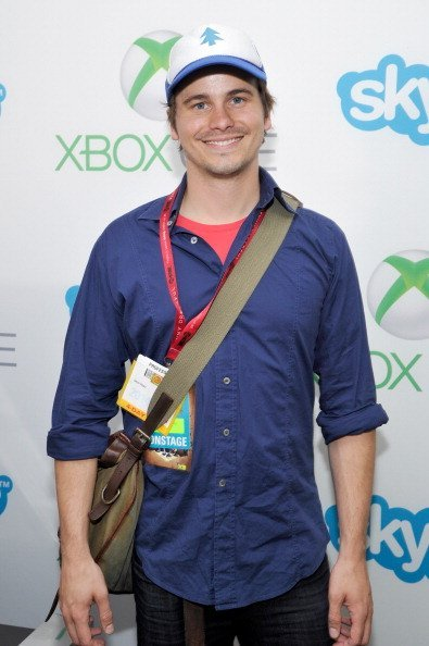 Jason Ritter at Comic-Con on July 25, 2014, in San Diego, California.| Source: Getty Images.
