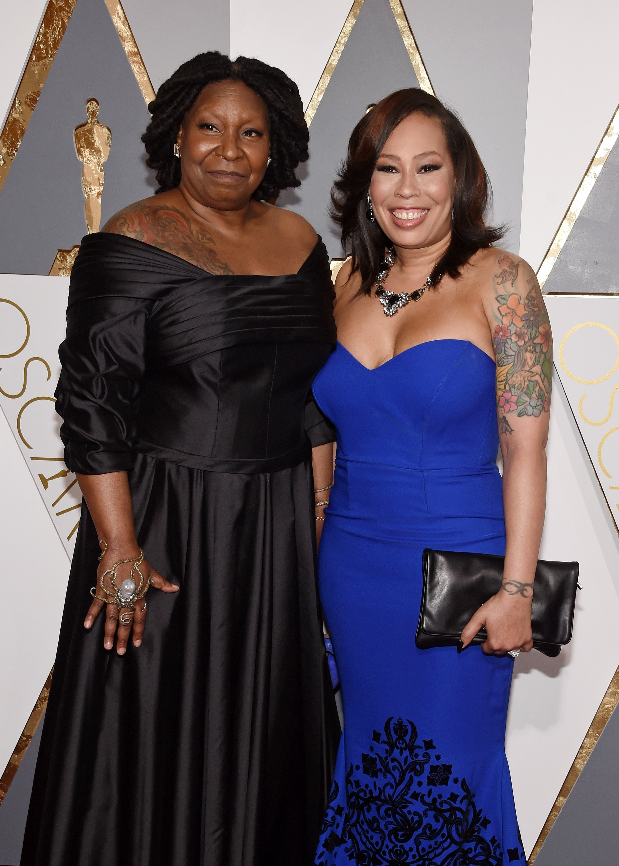 Actress Whoopi Goldberg and Alex Martin attend the 88th Annual Academy Awards   Photo: Getty Images