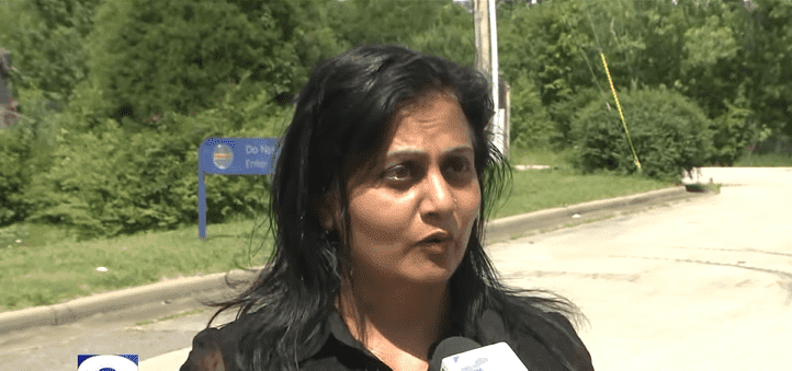 Radhya Spencer, the property manager where the Hometown Furniture store is located. | YouTube/ WREG News Channel 3