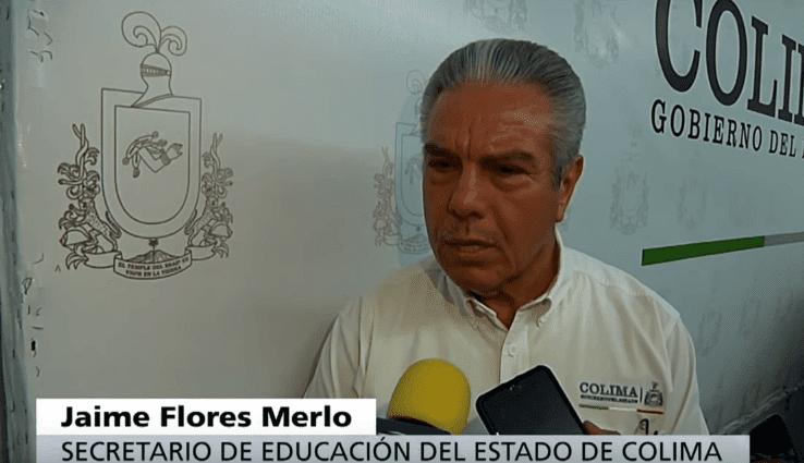 Secretario de Educación.   Imagen tomada de: YouTube/ Noticieros Televisa
