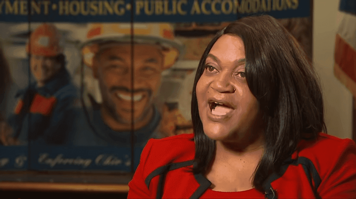 """The ultimate decison that was made, is that GM allowed a raacially hostile enviroment,"" says Darlene Sweeney-Newbern, director of regional operations at the Ohio Civil RIghts Comission. 