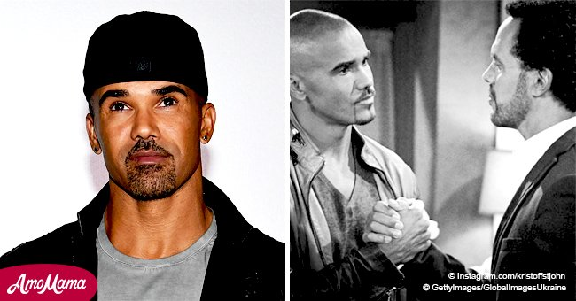 Shemar Moore cries while paying tribute to his late 'brother' Kristoff St. John
